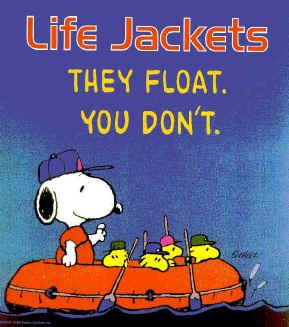 Life Jackets Snoopy And Woodstock Charlie Brown And Snoopy Snoopy Quotes