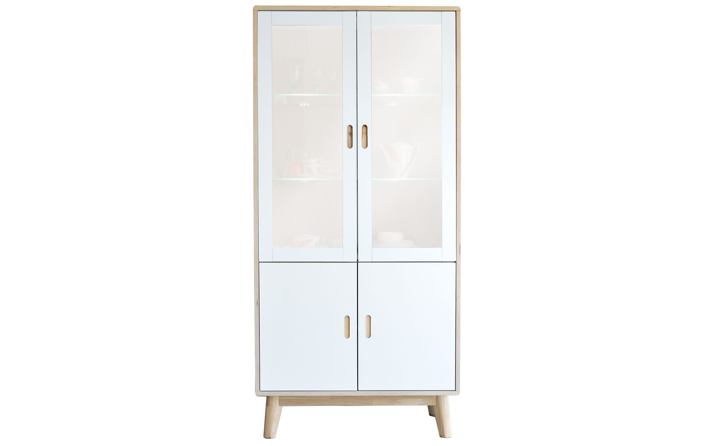 Buy Soho White Display Cabinet