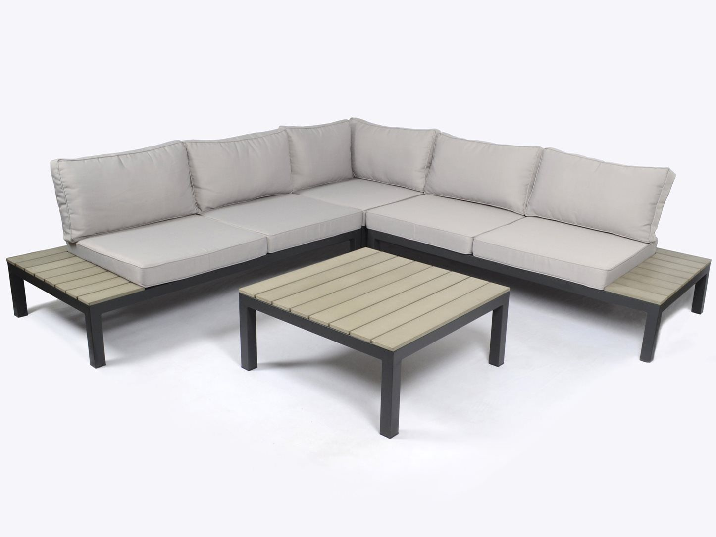 Tortuga Outdoor Sky Rise Aluminum Sectional Patio Sectional