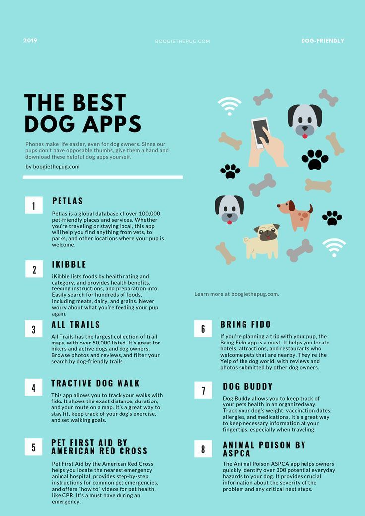 The 8 Best Apps For Dog Owners Dog Apps Dog Owners Dog Information