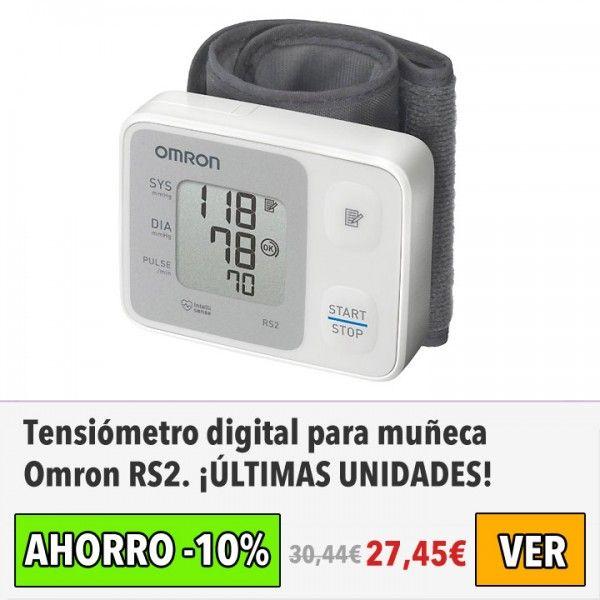 Tensiómetro digital para muñeca Omron RS2. #ofertas #descuentos #dameofertas
