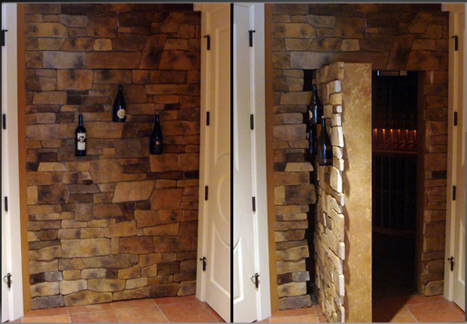 Dream home would not be dream home without secret room.