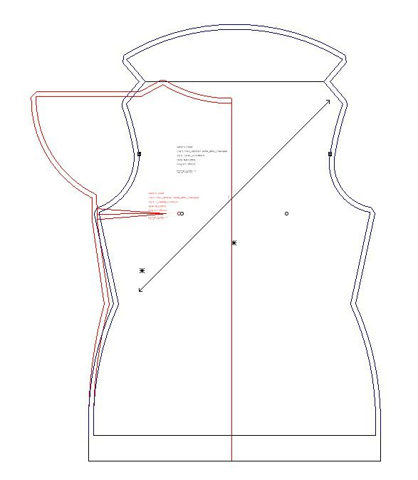 Sew What\'s Next: Cowl-neck Top with Cuton sleeves | Entre costuras ...