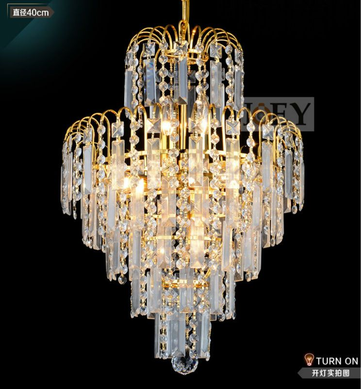 Traditional crystal chandeliers lighting gold palace light luxury traditional crystal chandeliers lighting gold palace light luxury hotel lamp for restaurant diameter40cm guaranteed100 9052 mozeypictures Image collections