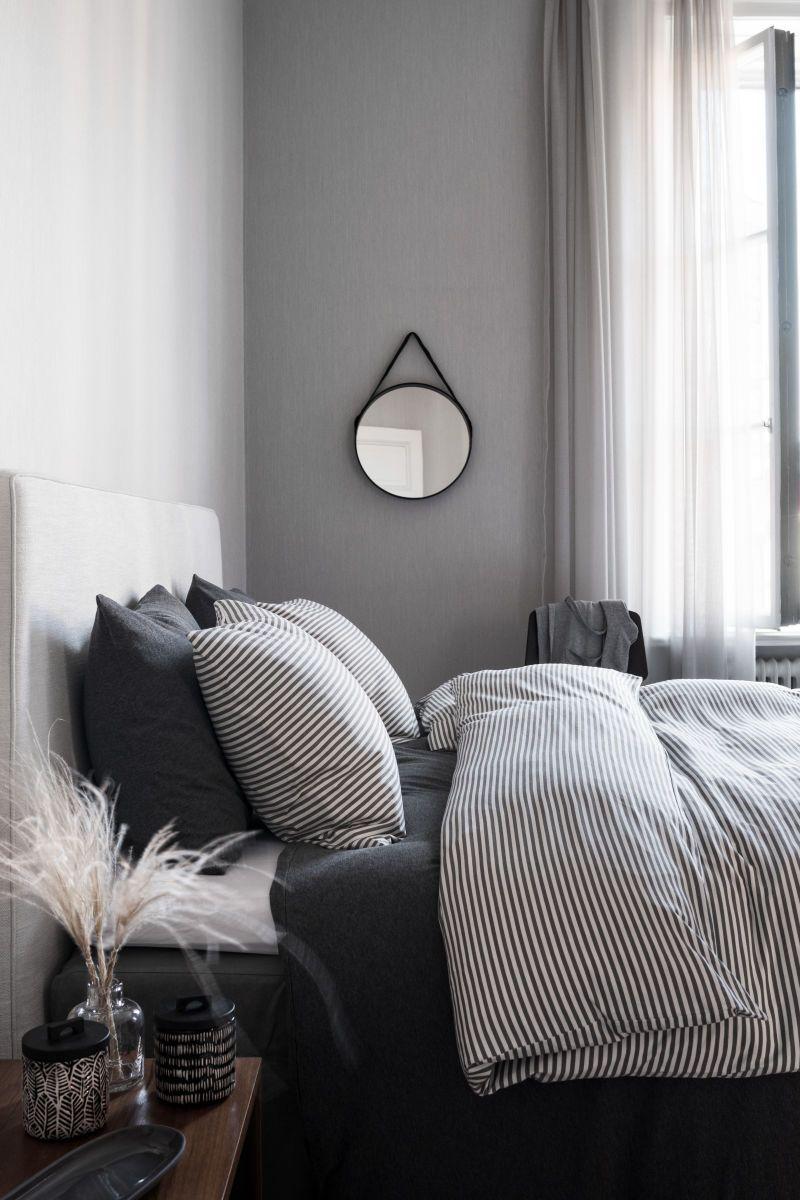 Jersey Duvet Cover Set Gray White Striped H M Home H M Us Home Decor Bedroom Bedroom Design Bedroom Interior