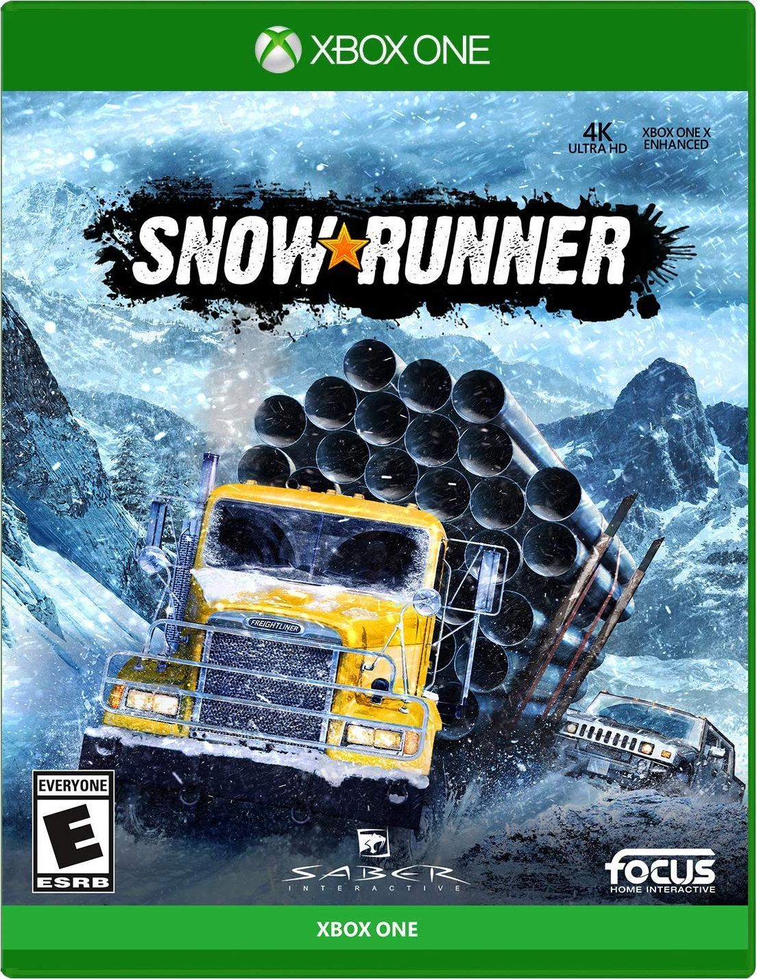 Snowrunner in 2020 Xbox one, Xbox one games, Xbox