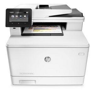 Hp Color Laserjet Pro Mfp M477fdn Driver Download Printer Laser Printer Office Printers