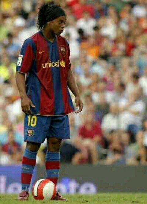 e1803c9894b6f Ronaldinho of Barcelona in 2007.