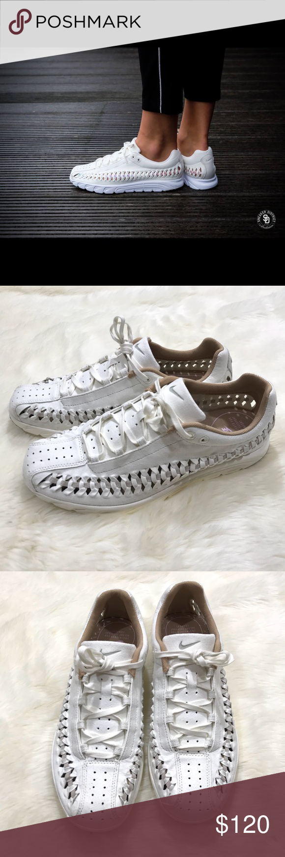 Nike Mayfly Woven Sail Stardust Sneakers 11 NWOB Wmns Nike Mayfly Woven  Sail Stardust Women Casual c7ebc4825