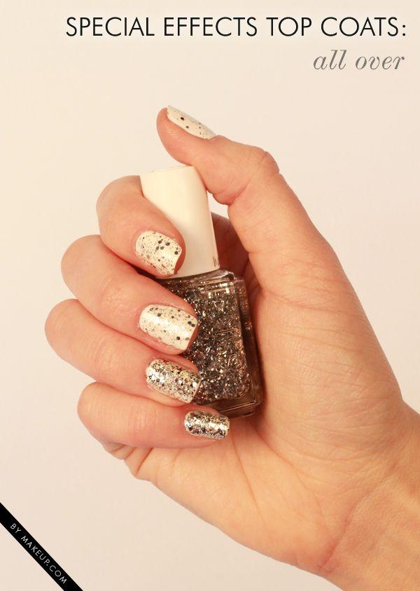 2 ways to wear essie Luxeffects Set in Stones // #nailart | Uñas y ...