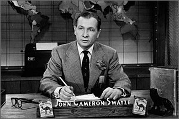 John Cameron Swayze | Classic television, Broadcast news, Old tv shows