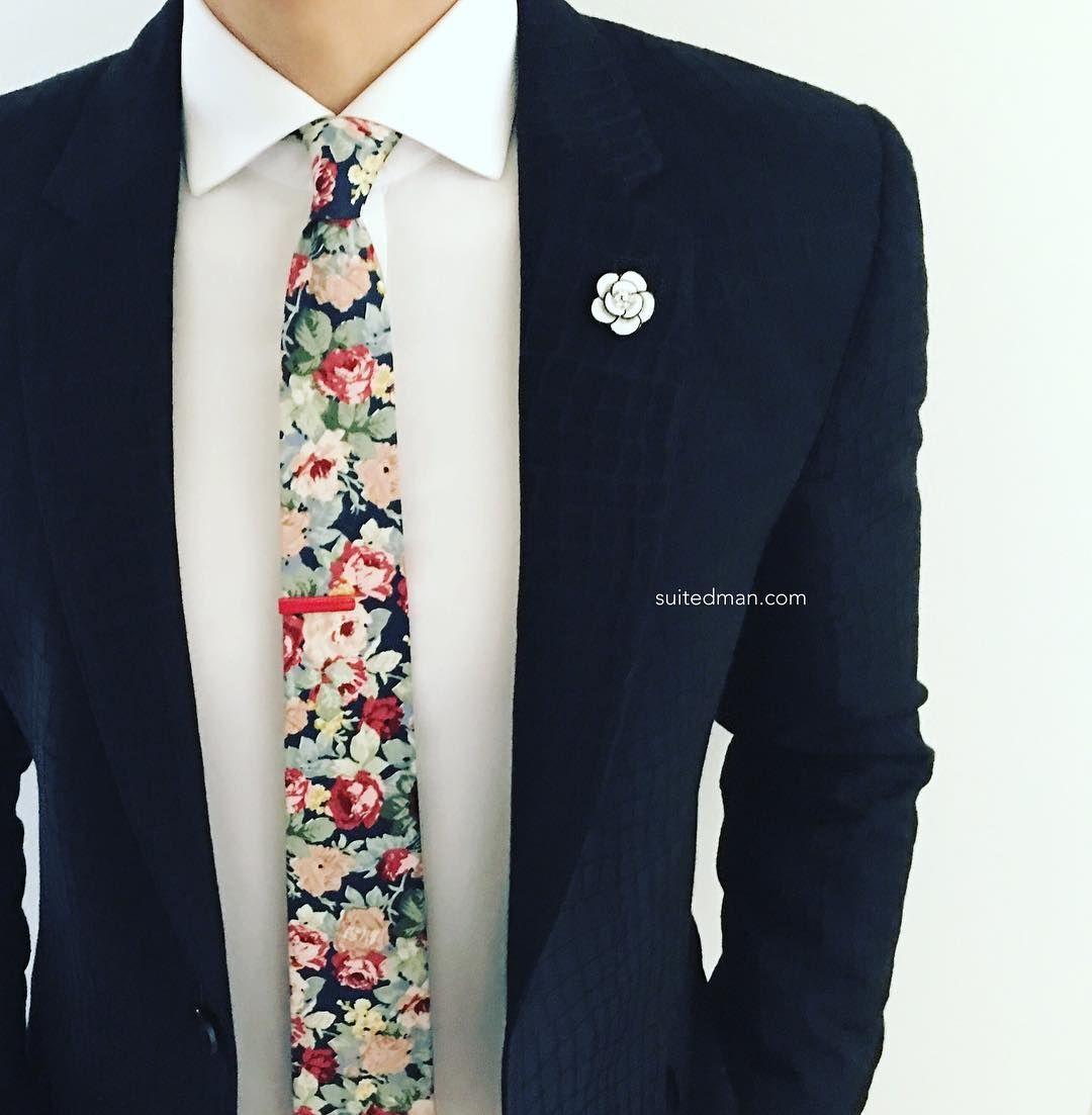 "SuitedMan (@suited_man) on Instagram: ""Outfit details at SuitedManStyle.com   Suit by @hugo_sandiego   Accessories by SuitedMan.com  …"""