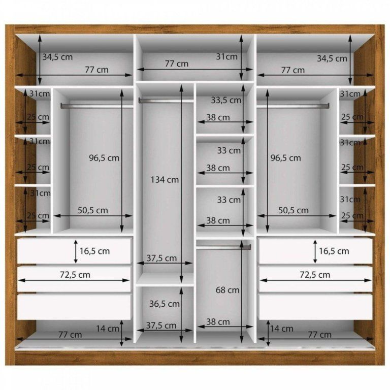 Standard Wardrobe Closet Design Guidelines - Engin