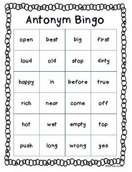 synonyms antonyms homonyms worksheet pdf