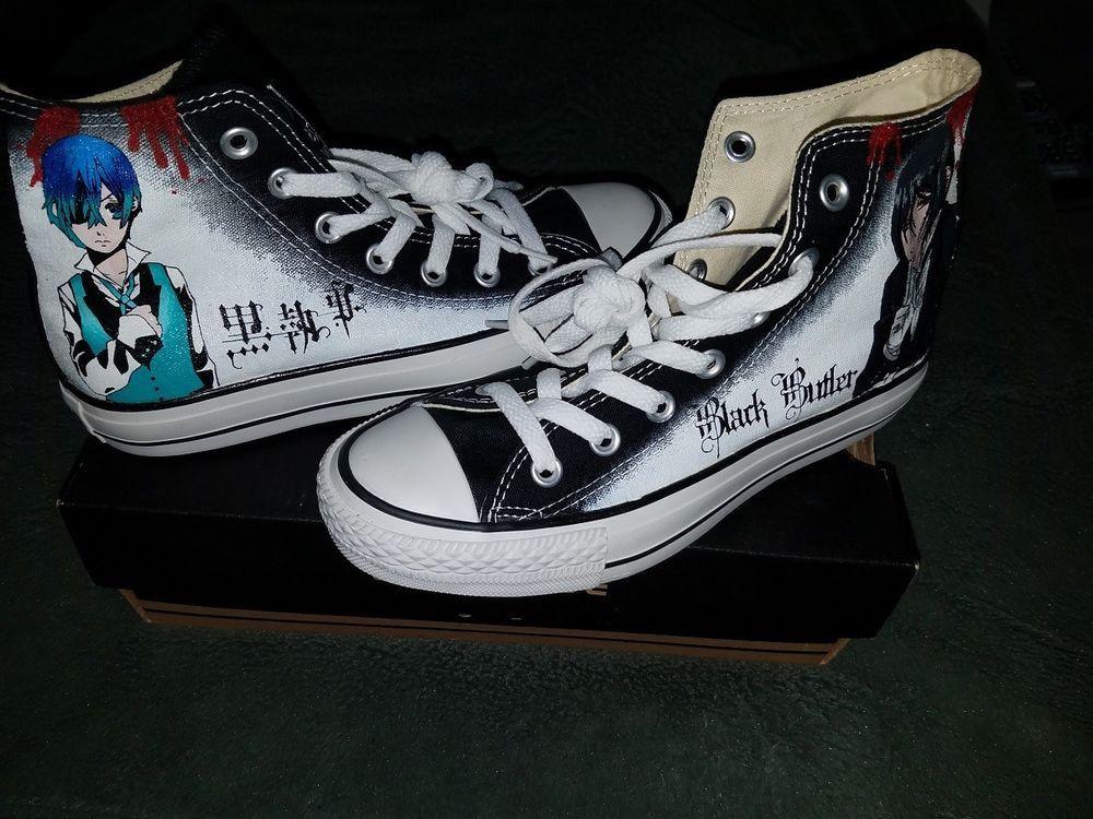 Buy Anime Black Butler Converse Shoes High Top Canvas