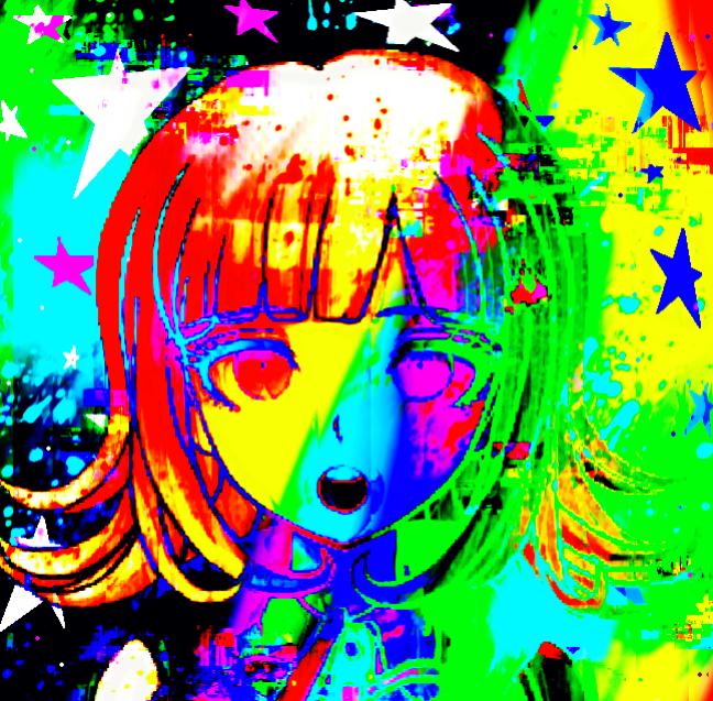 Glitchcore profile picture: Chiaki in 2020 | Dark anime ...