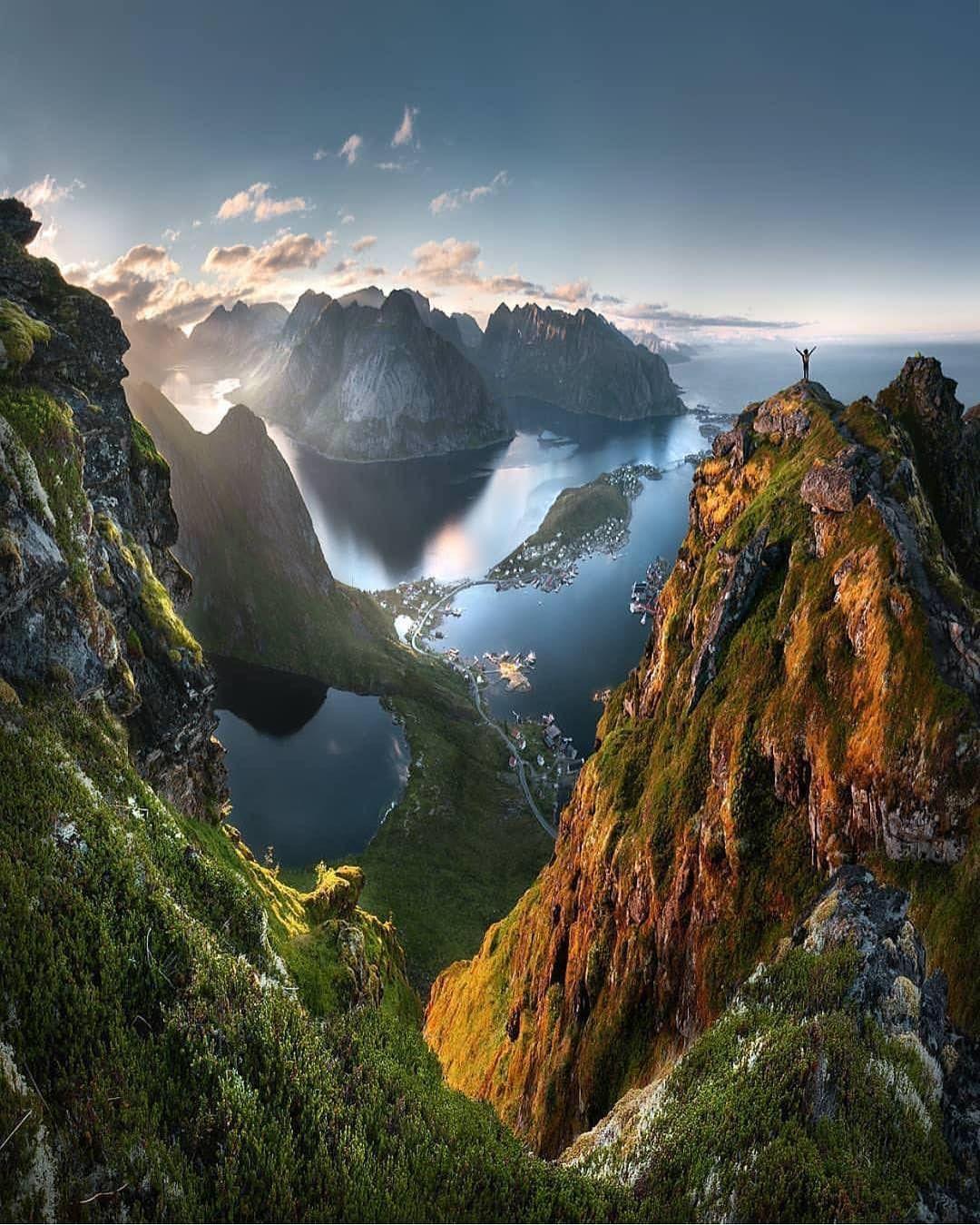 Lofoten Norway Natur I 2018 Pinterest Landskap Vackra