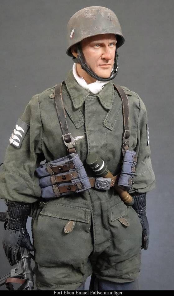 Schmeling - WWII German Fallschirmjager - DiD 1/6 Scale Figure