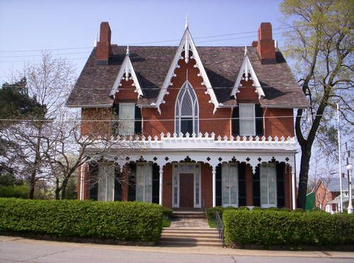 Oak Hill Cottage Mansfield Ohio Cottage Homes Architecture House House