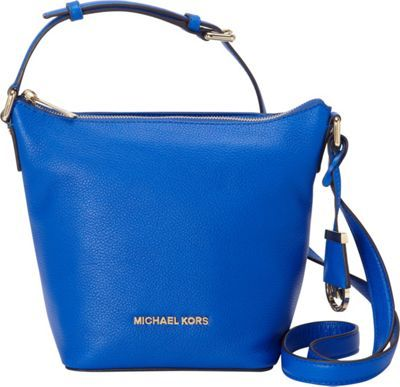 379670bd2364 MICHAEL Michael Kors Bedford Small Messenger Crossbody Electric Blue - via  eBags.com!