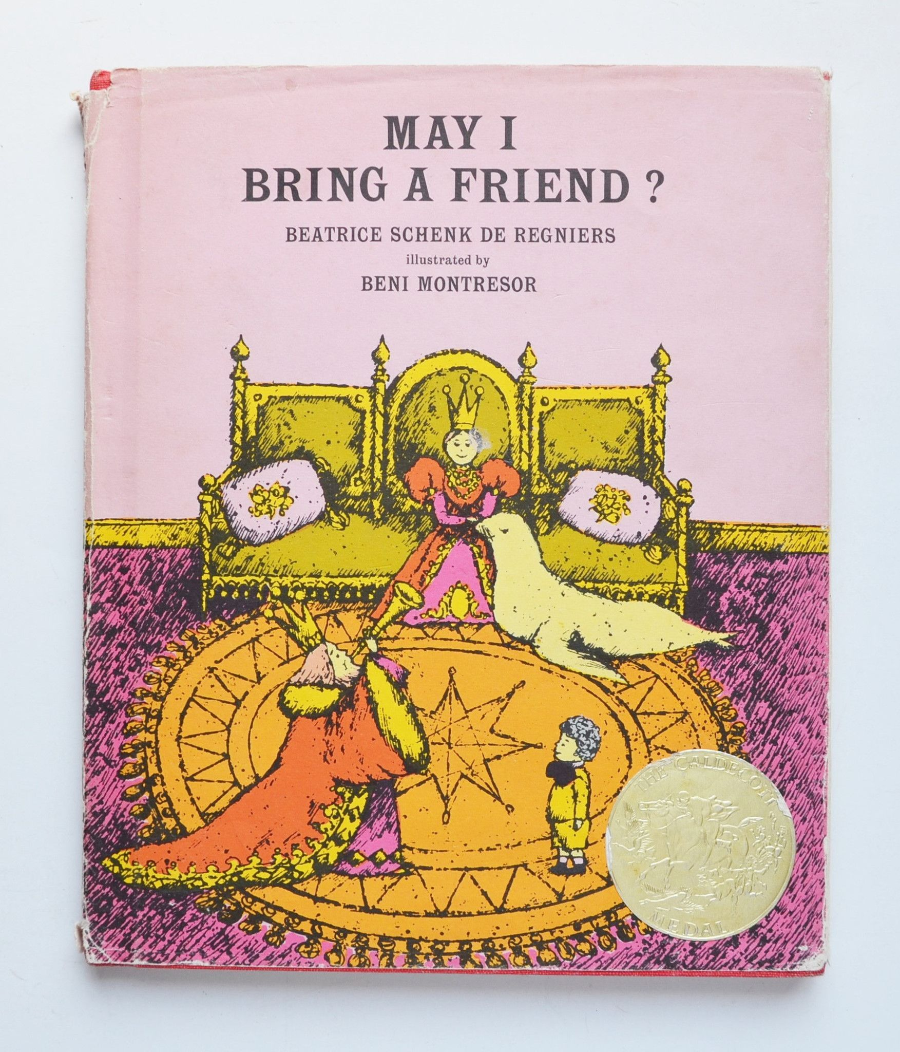 May I Bring A Friend By Beatrice Schenk De Regniers Illustrated