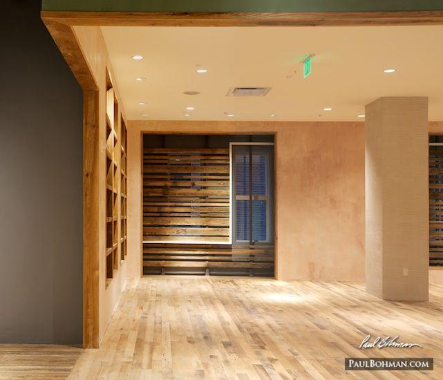 Amazing Salmon Colored Stucco Wall Treatment   Interior Design Photography In  Washington DC
