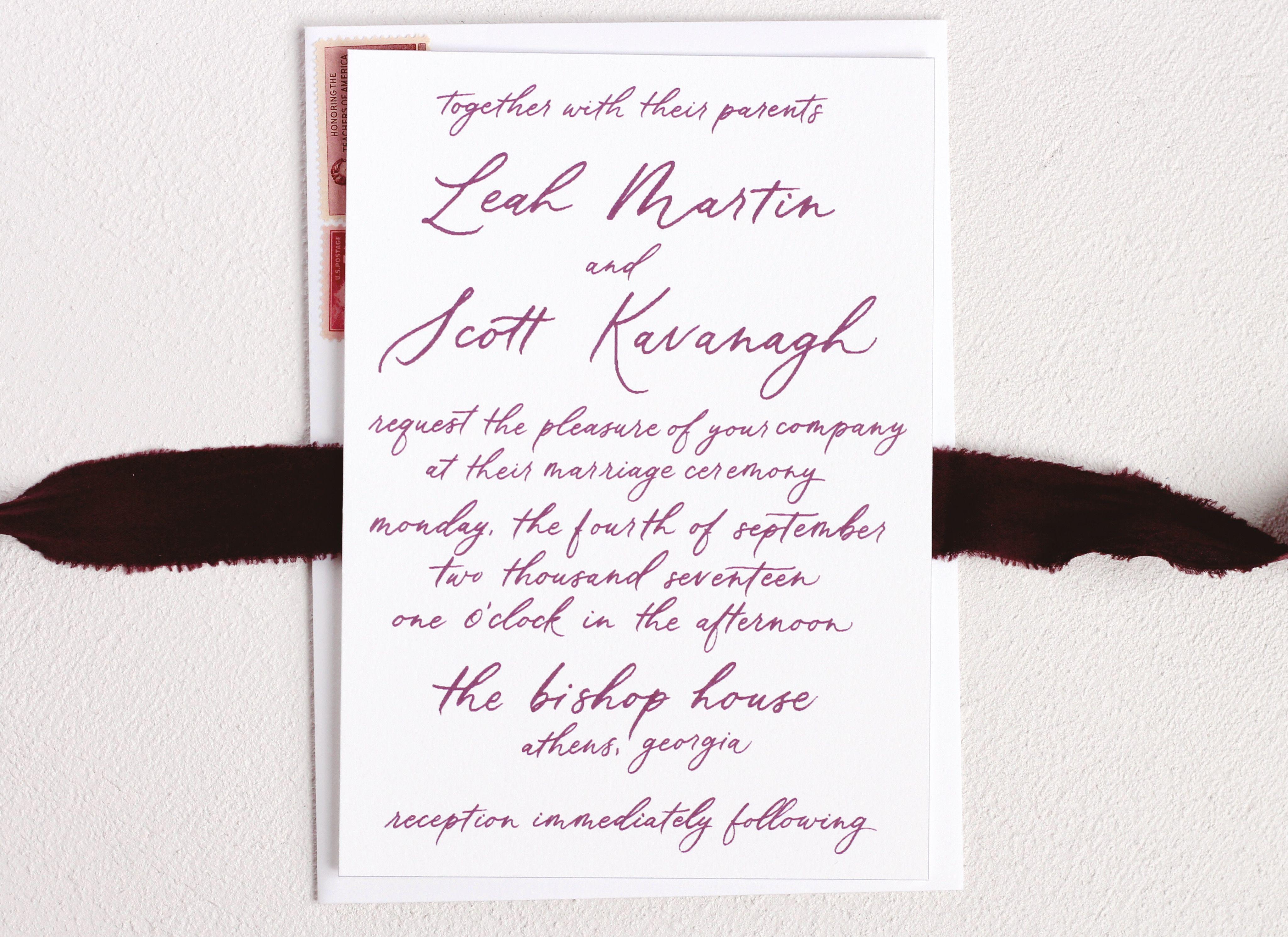 Wedding Invitation by Morphosis Studio   morphosis studio work ...