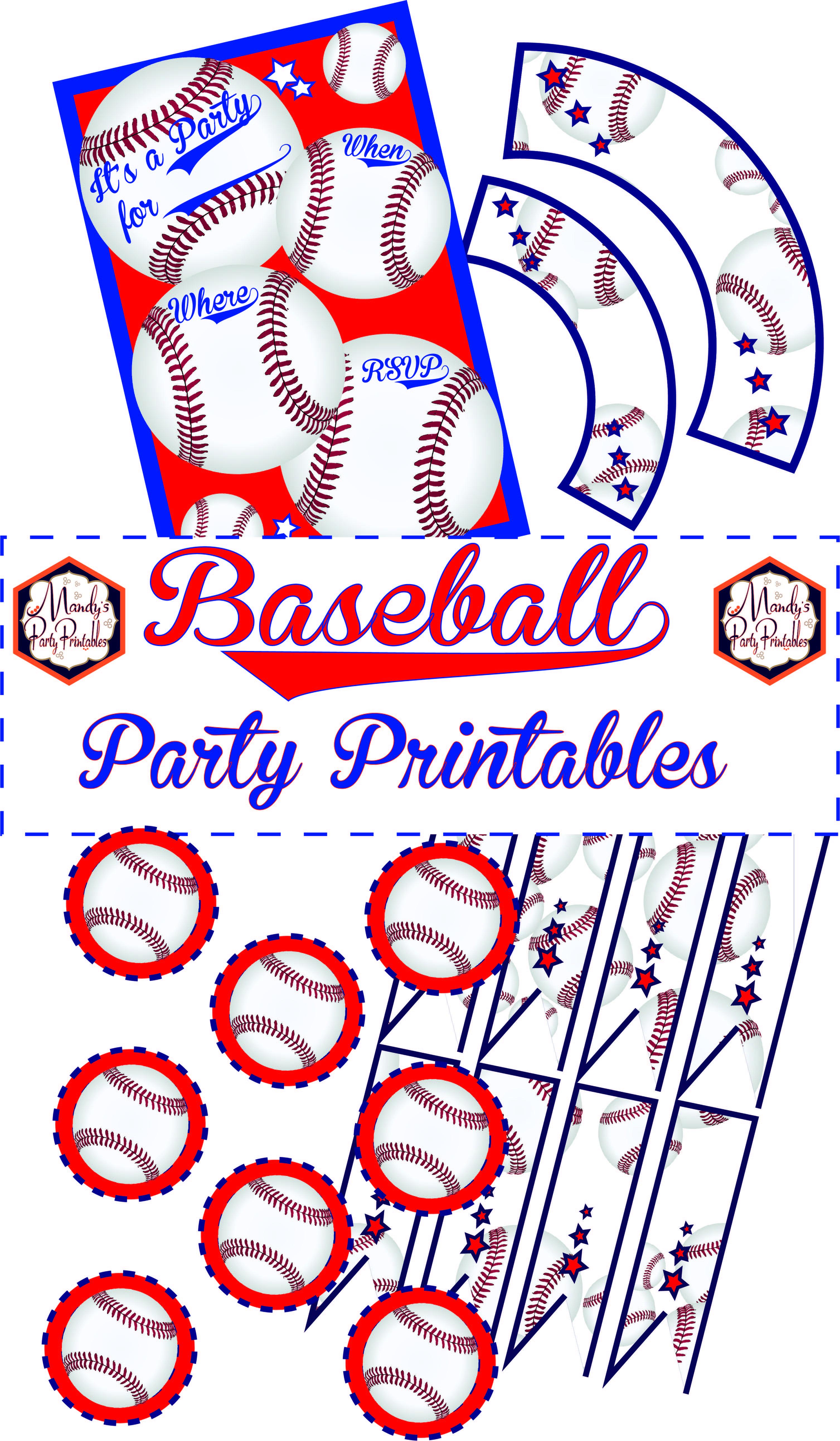 Free Baseball Printables