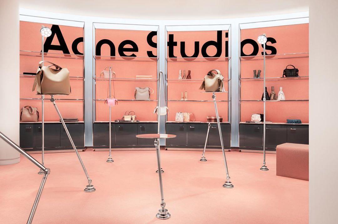 acne studios instagram