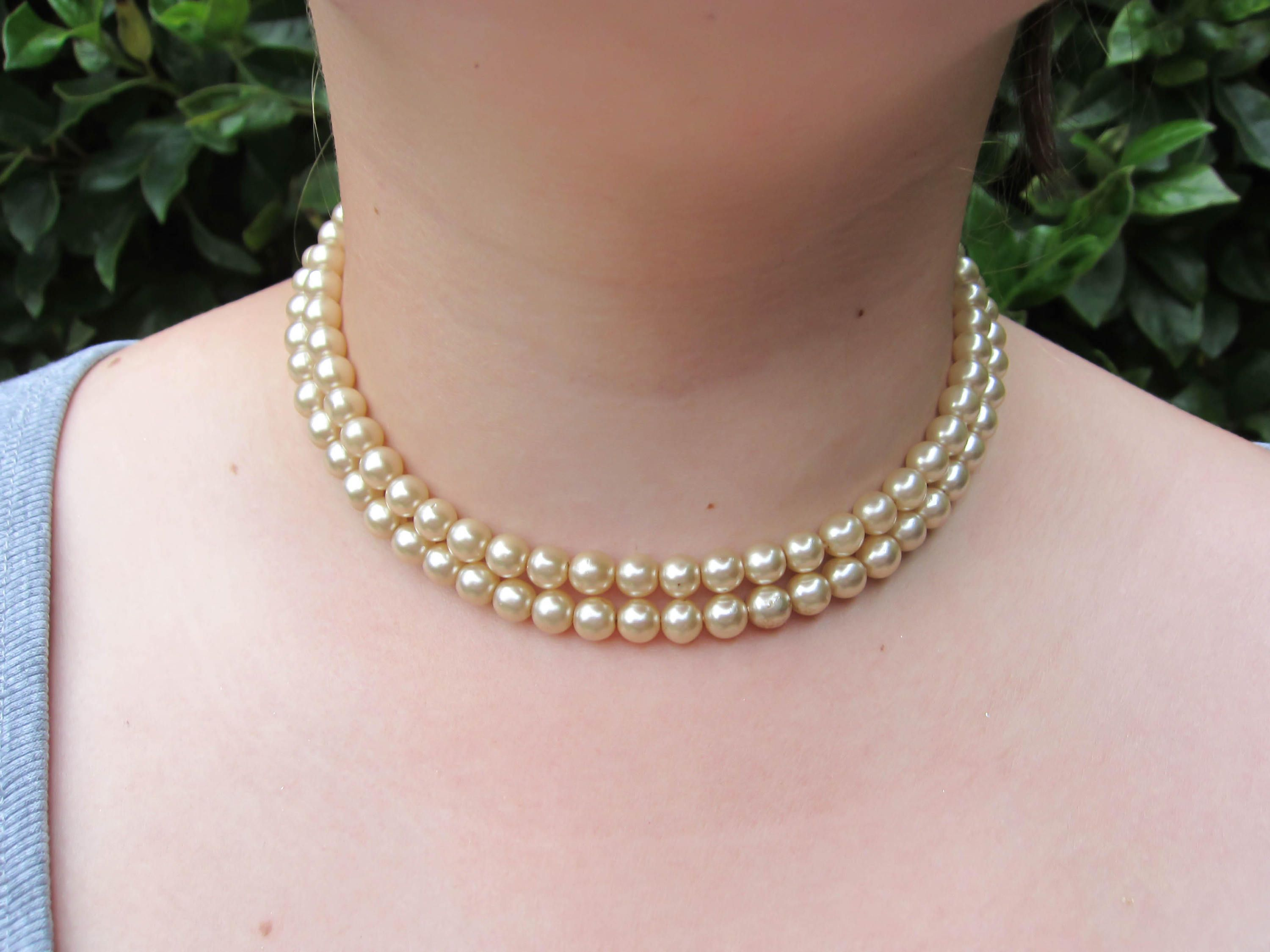 faux jewellery a with pearls products amanda necklace gilt large
