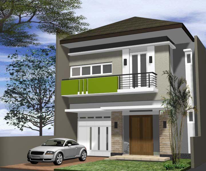 Contoh Rumah Minimalis  Lantai