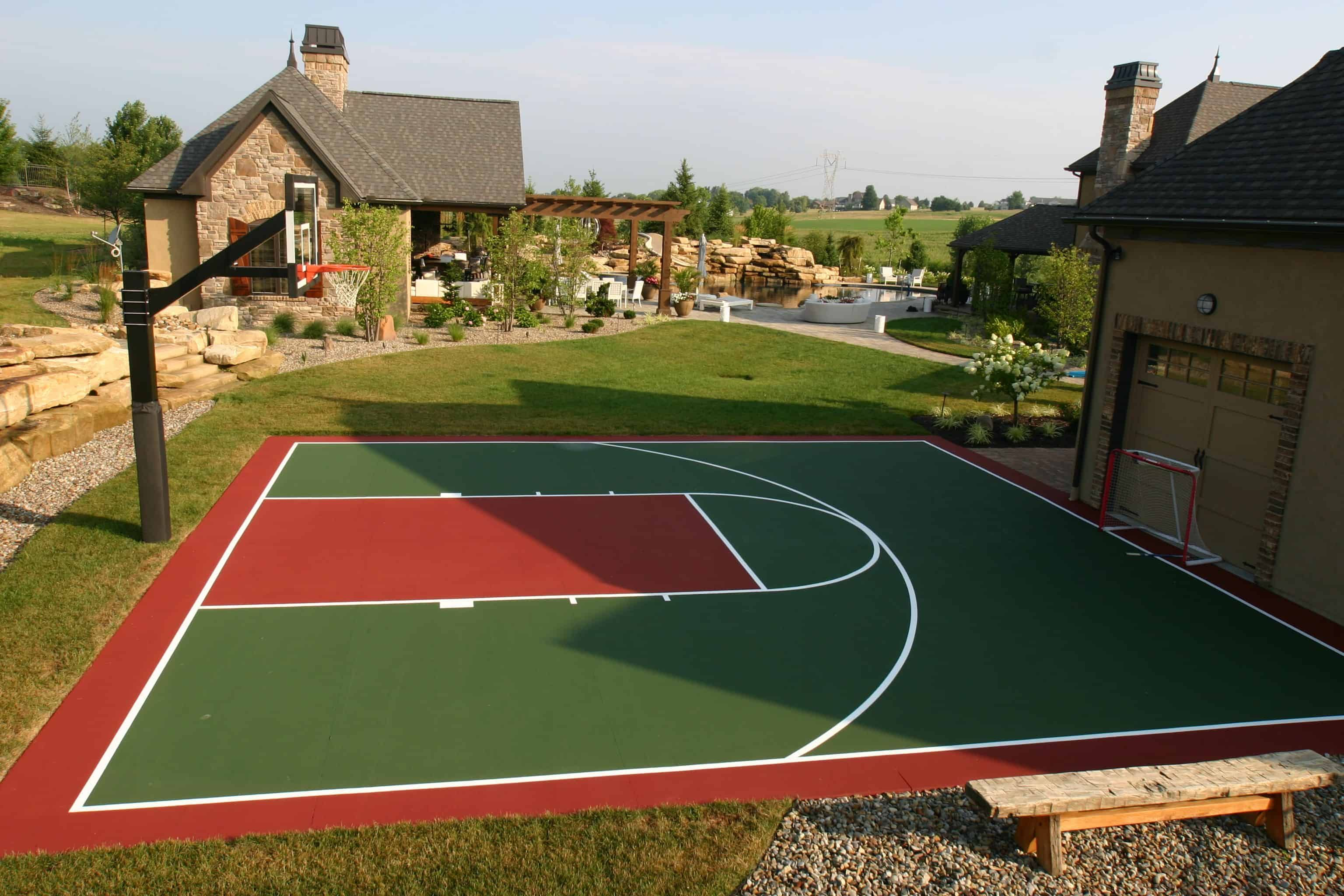 22 Genius Concepts Of How To Makeover Backyard Sport Court Ideas Backyard Sports Sport Court Outdoor Sports Court