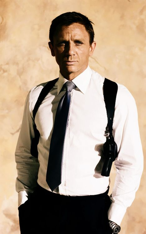 There's only one way to conceal and still be suave and that is the shoulder holster.