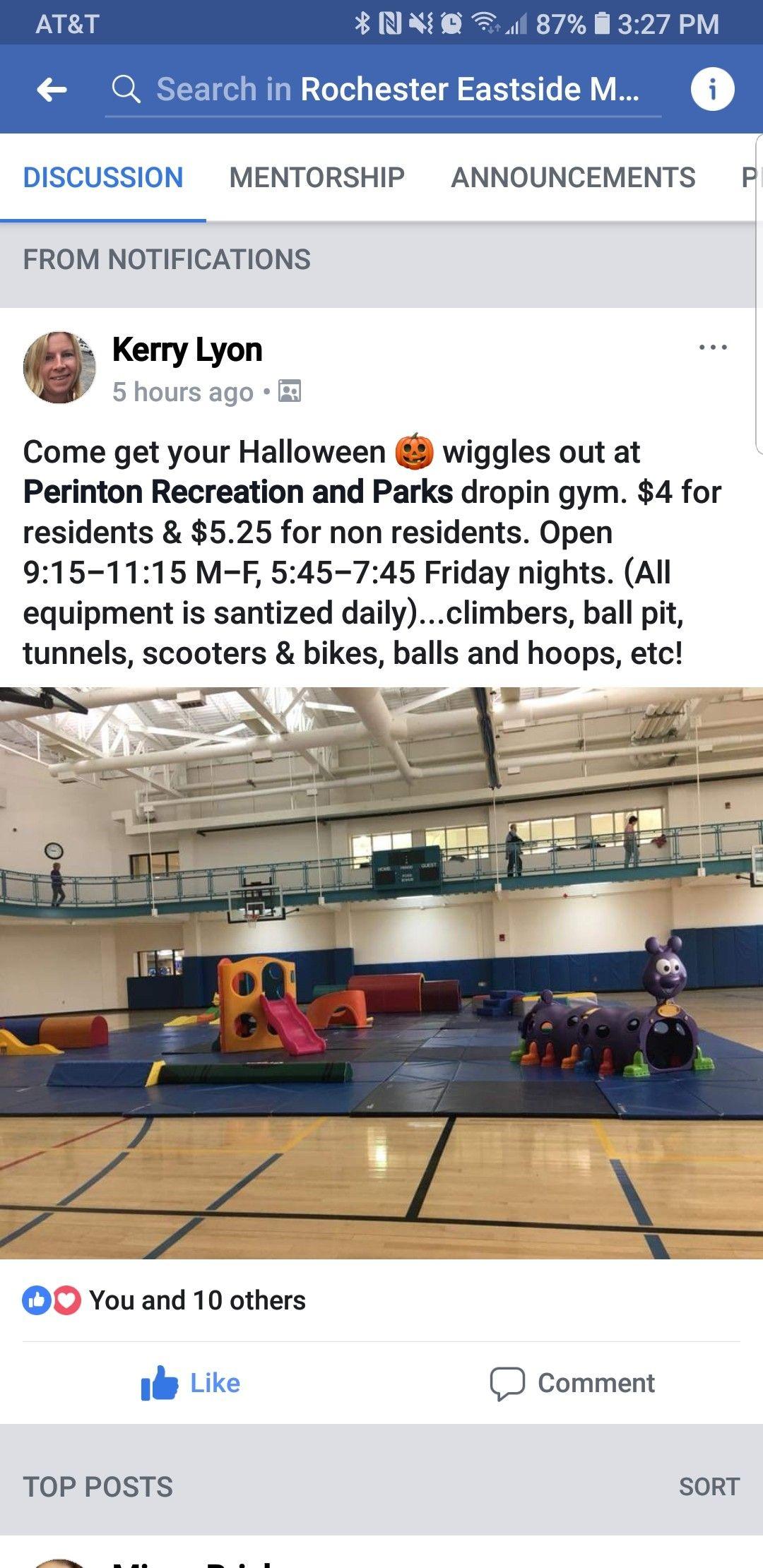 Perington Rec Mentorship Recreation Eastside