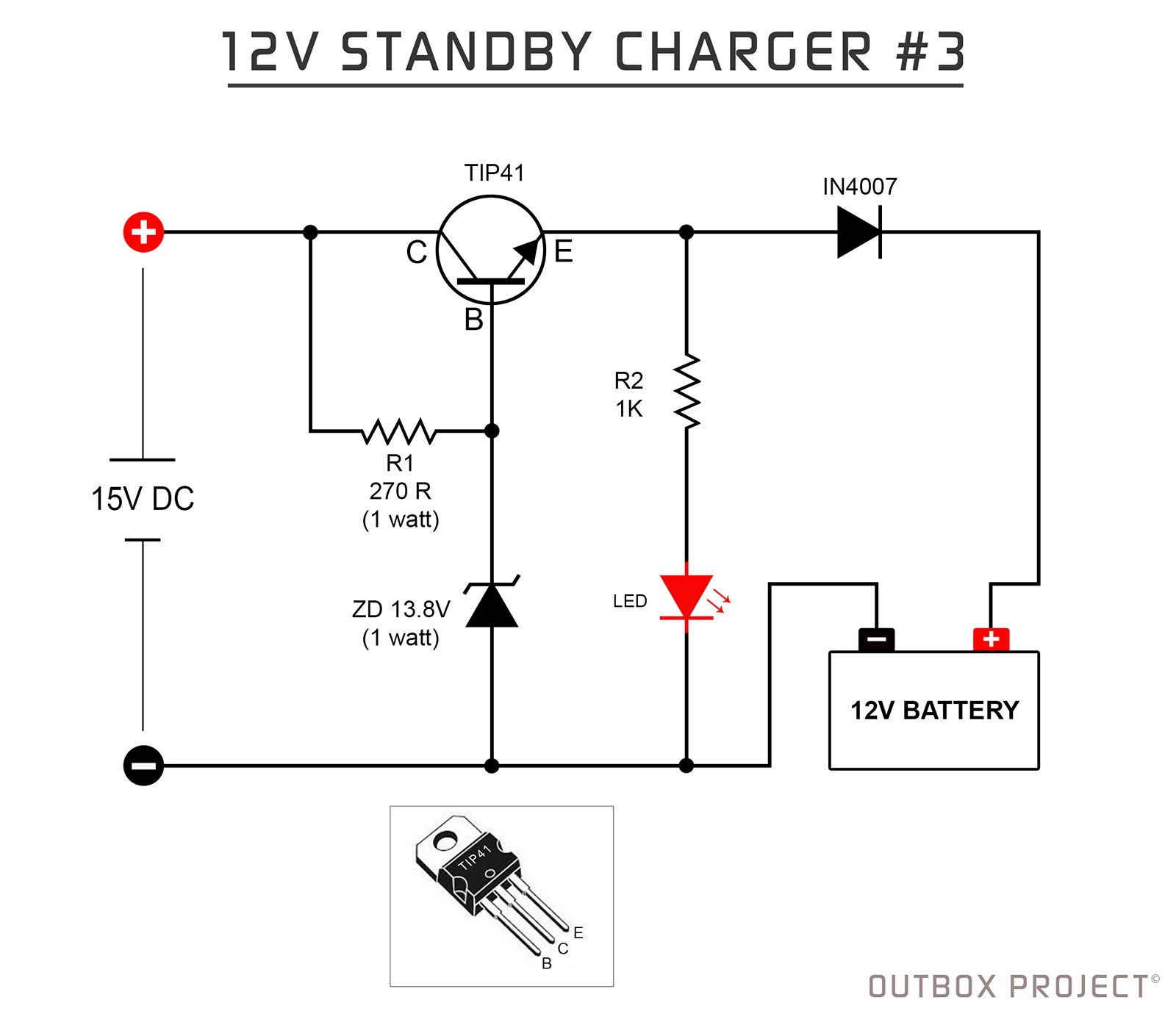 12v Battery Standby Charger