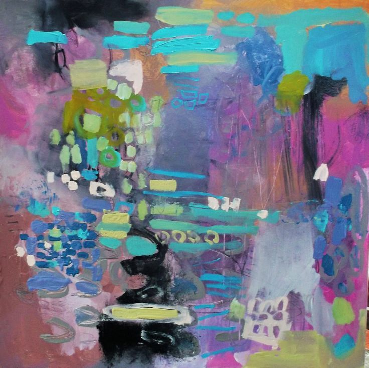 Large abstract art by Wendy McWilliams Wendy McWilliams - abstract format