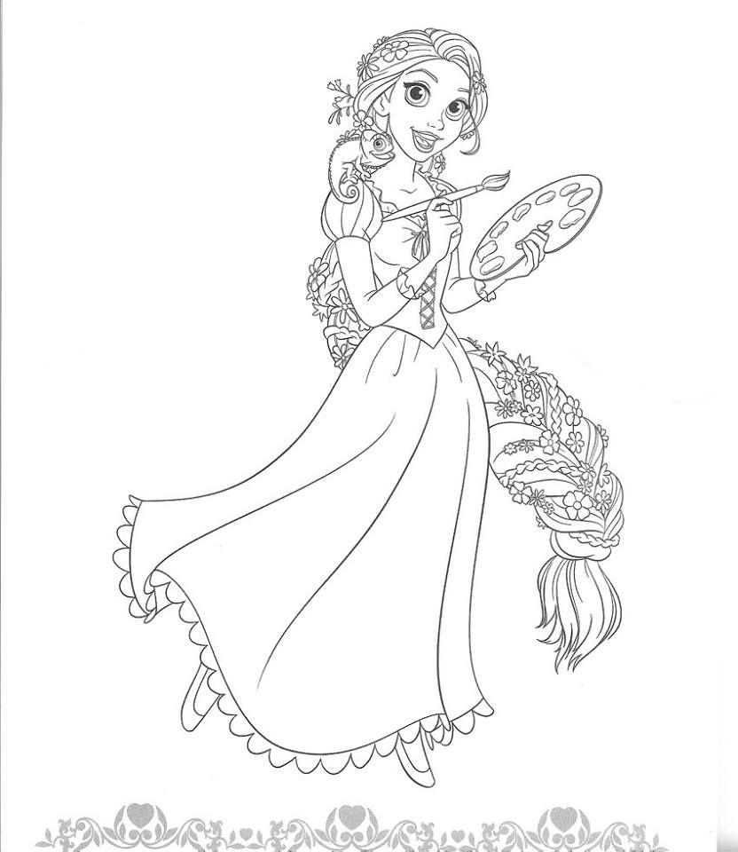 Wunderbar Malvorlagen Aller Disney Prinzessinnen Fotos ...