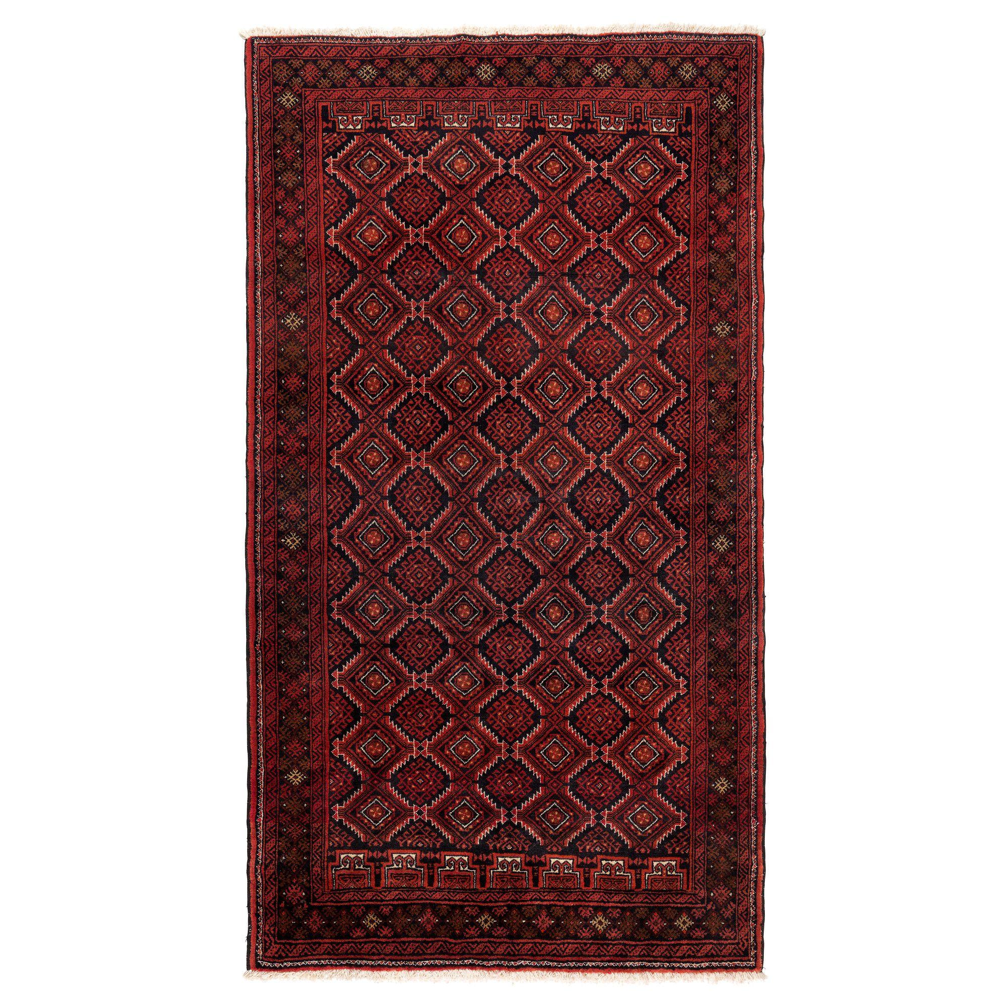PERSISK BELUTCH Rug, low pile Handmade assorted patterns 100 x 200 ...