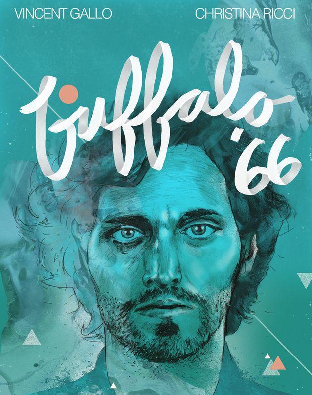 BUFFALO '66 / alternative movie poster project - by Matt Chinworth