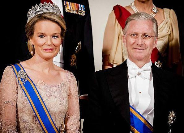 koning filip en koningin mathilde 28-11-2016