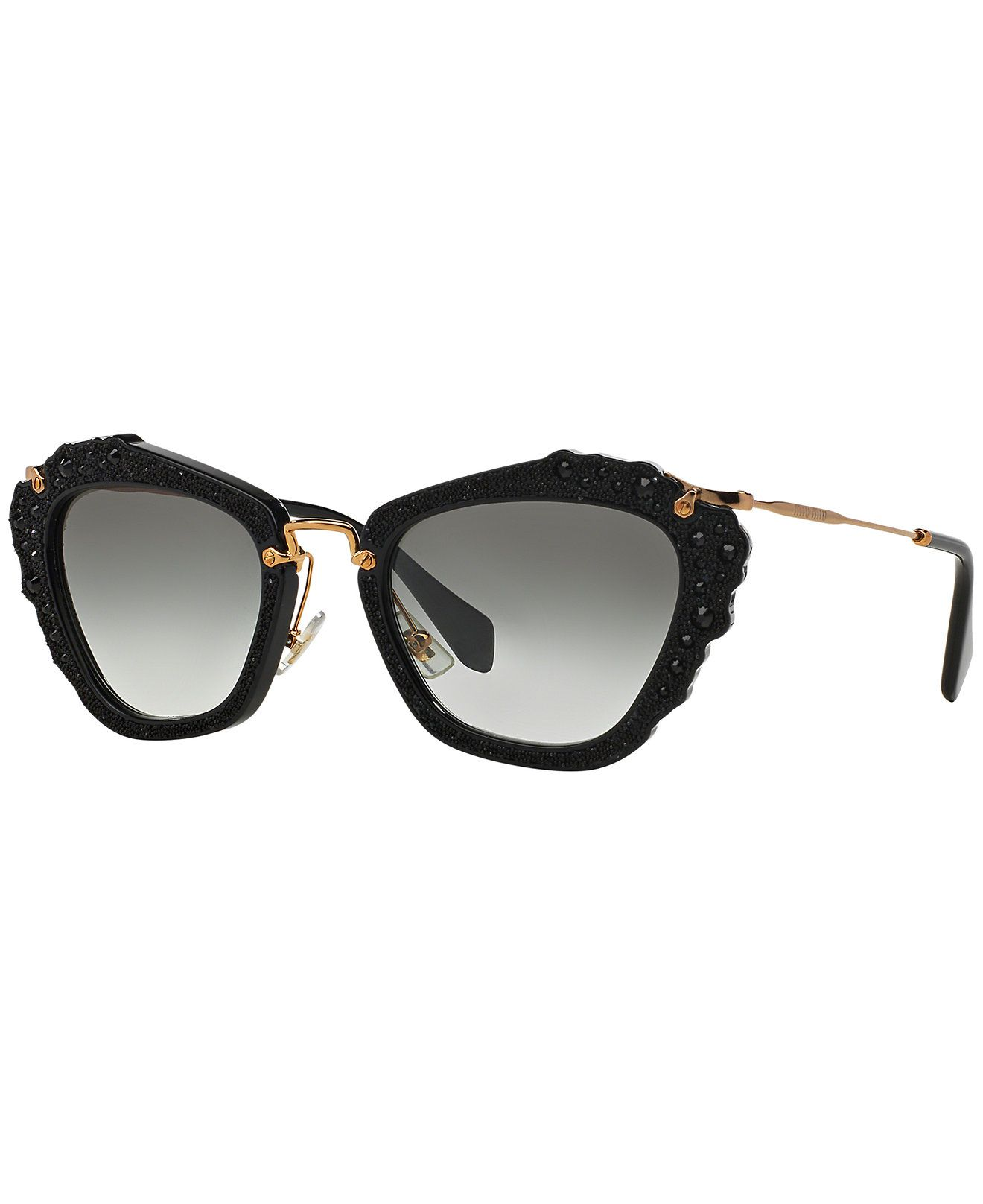 429c593effca Miu Miu Sunglasses, MIU MIU MU 04QS 55 - Sunglasses by Sunglass Hut -  Handbags & Accessories - Macy's