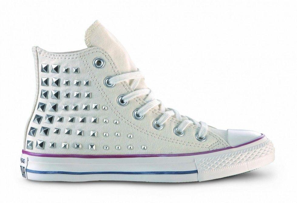 Converse con le borchie (Foto)   Shoes Stylosophy