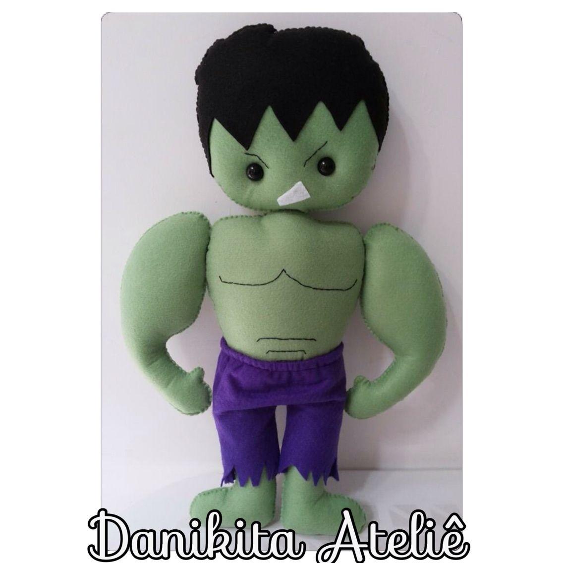 Incrivel Hulck Best incrível hulk em feltro   danikita - personagens   pinterest