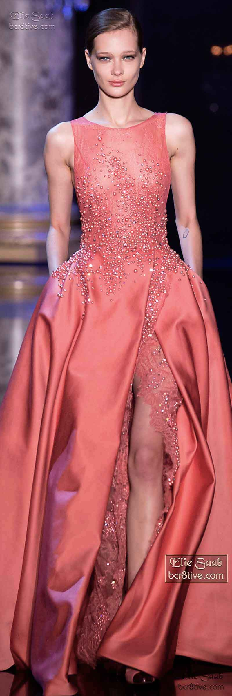 Elie Saab Fall Winter 2014-15 Couture | Vestiditos, Alta costura y ...