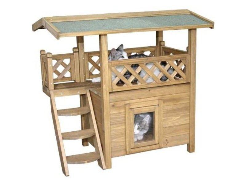 sch nes und lustiges katzenspielzeug f r balkon und garten katzen pinterest outdoor cats. Black Bedroom Furniture Sets. Home Design Ideas