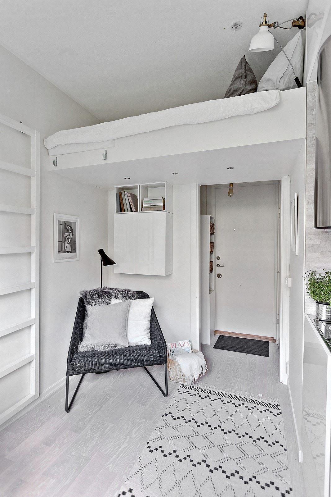 Квартира 13 кв.м. nicety Small apartment interior