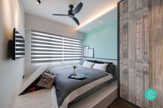 12 Must See Ideas On 4 Room 5 HDB Renovation Bedroom Interior DesignBedroom