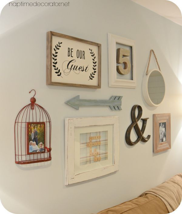 A Gallery Wall For The Basement Aka The First Glimpse At The New