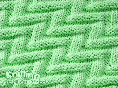 All Just Knits And Purls Labyrinth Textured Knitting Stitch Both