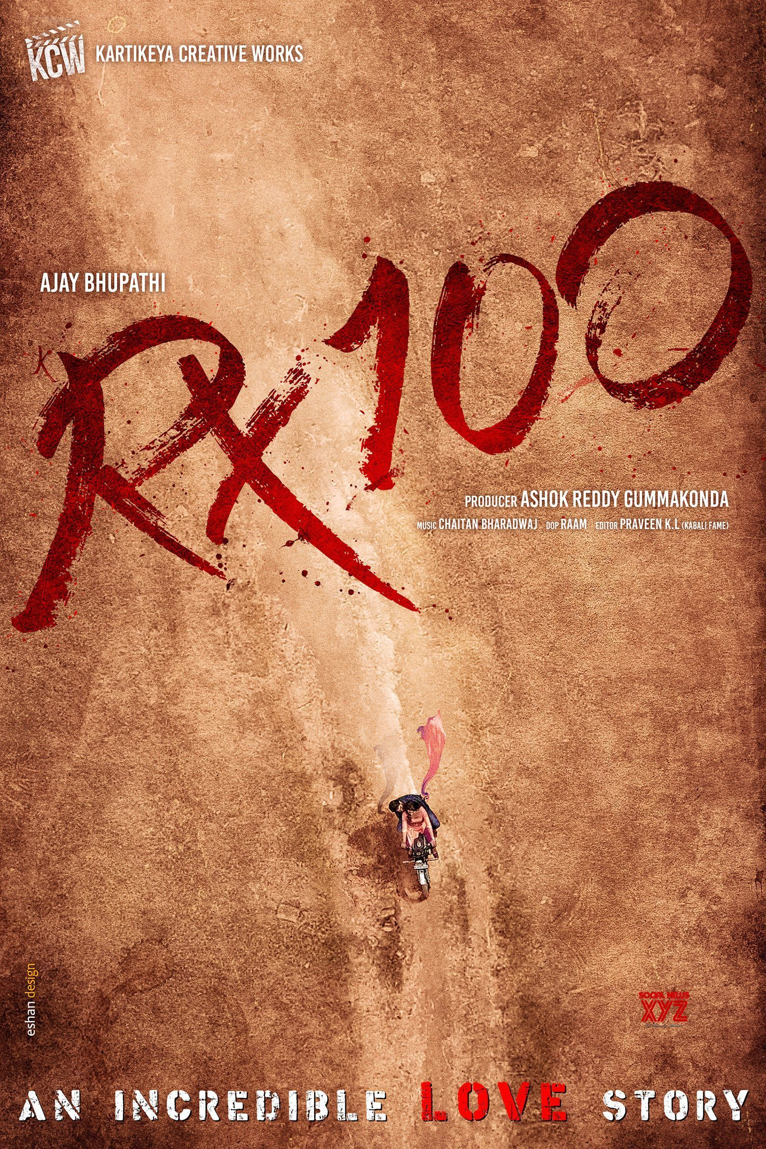 Rx 100 Movie Pre Look Poster Download Movies Hd Movies Download